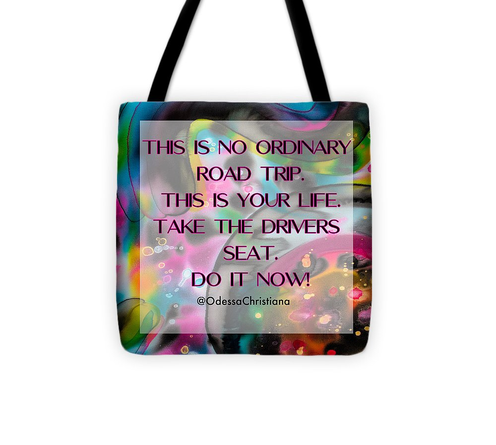 Drivers Seat - Tote Bag