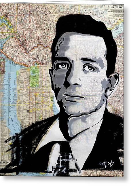 Kerouac - Greeting Card