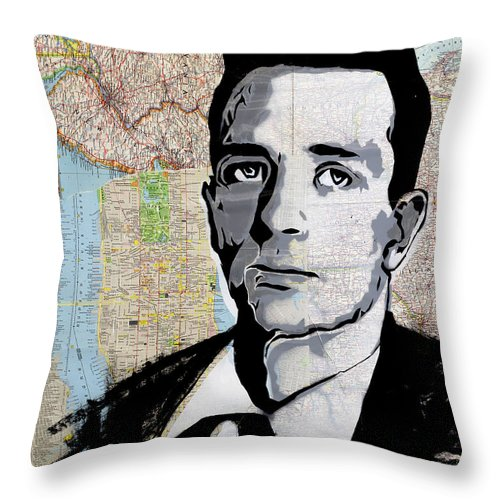 Kerouac - Throw Pillow