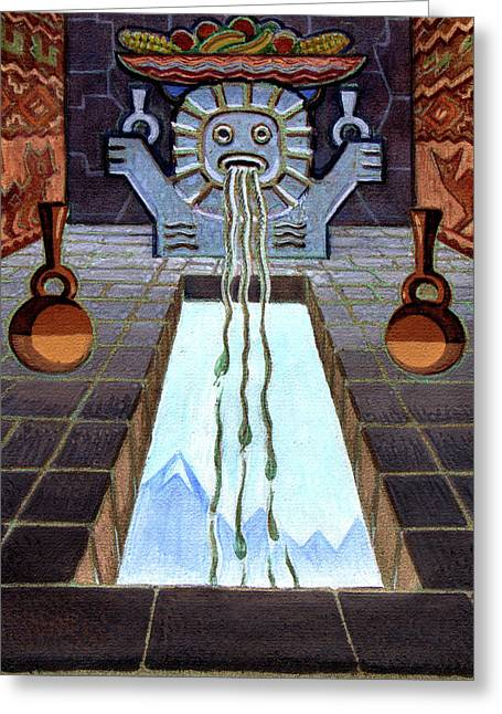 Mayan Passage - Greeting Card