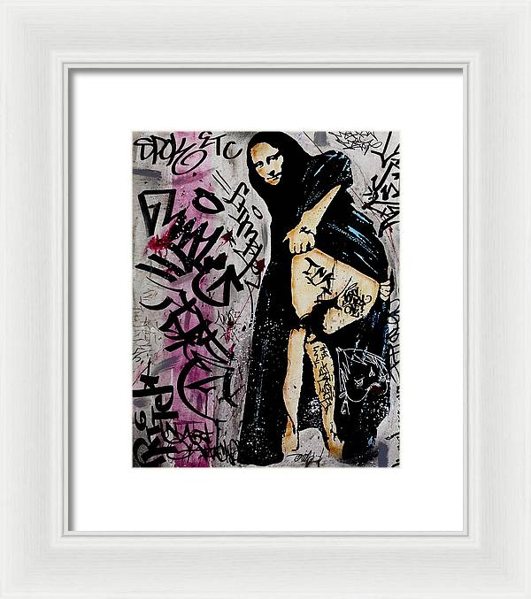 Mona Moon - Framed Print