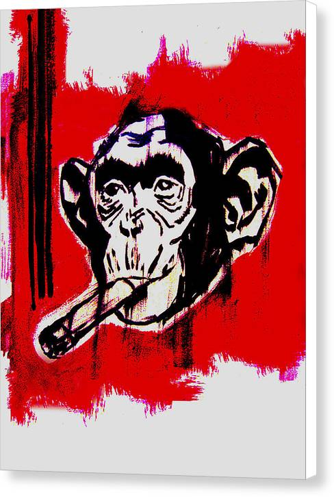 Monkey Business - Canvas Print