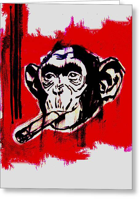 Monkey Business - Greeting Card