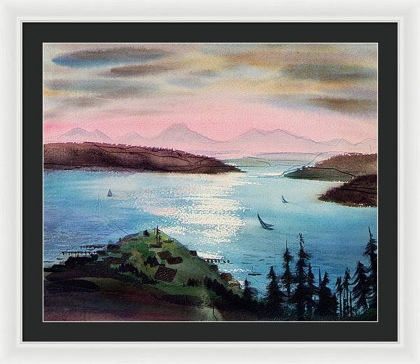 Pacific Northwest - Framed Print