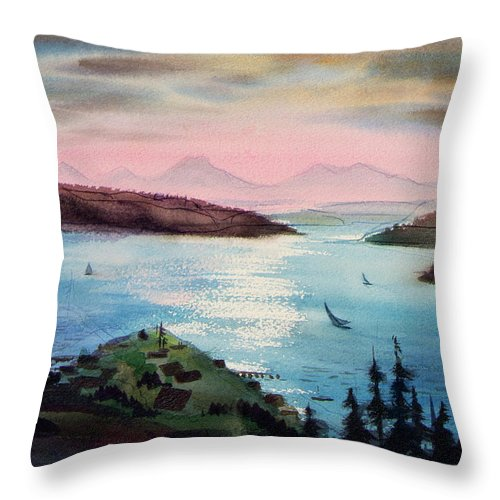 Pacific Northwest - Throw Pillow