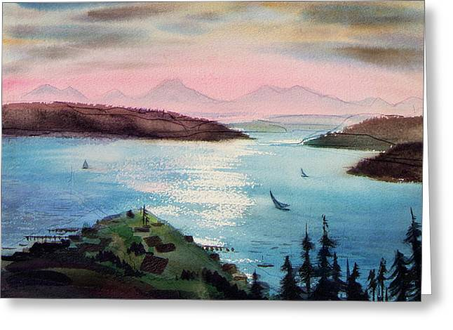 Pacific Northwest - Greeting Card