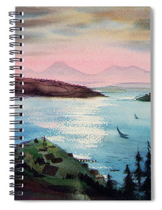 Pacific Northwest - Spiral Notebook