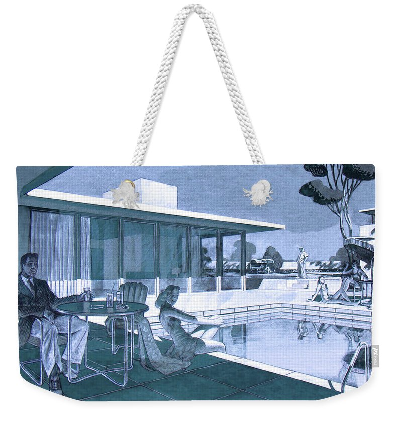 Palm Springs Sunday - Weekender Tote Bag