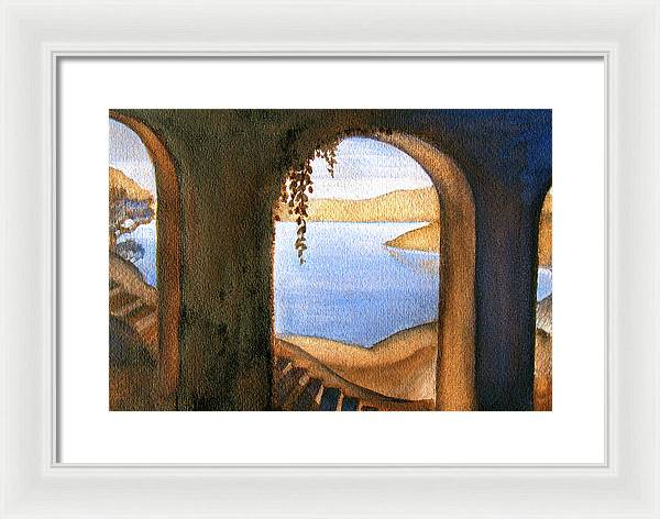 Parrish Blue - Framed Print