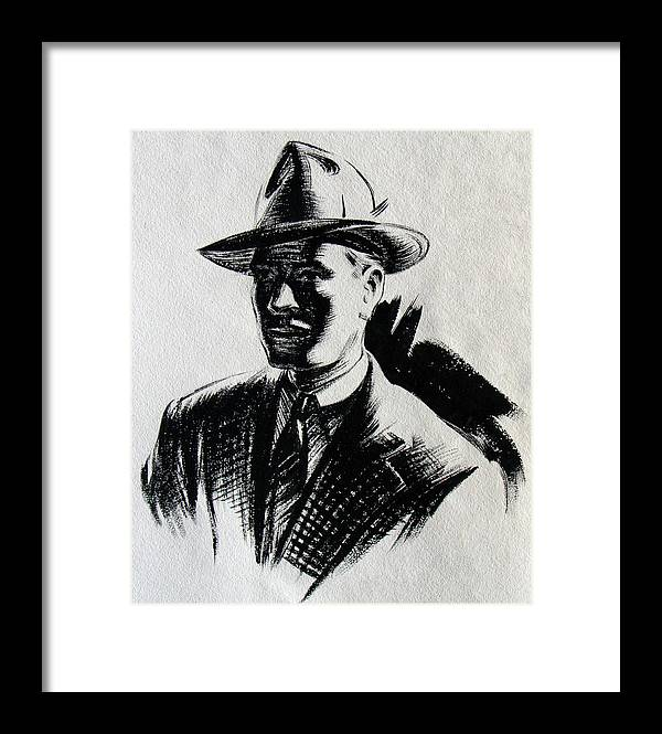 Private Detective  - Framed Print