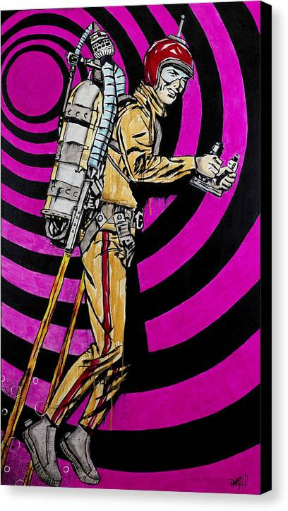 Rocket Man - Canvas Print