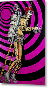 Rocket Man - Metal Print
