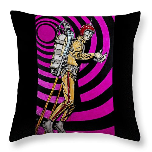Rocket Man - Throw Pillow