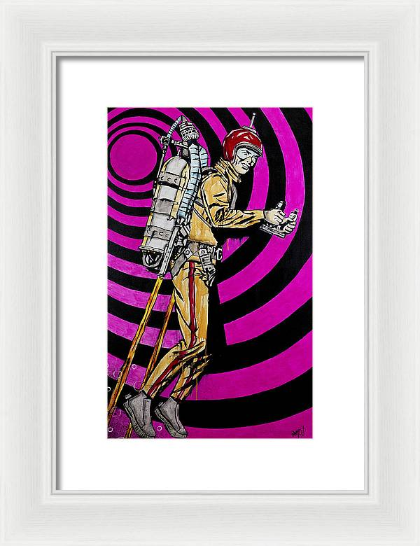 Rocket Man - Framed Print