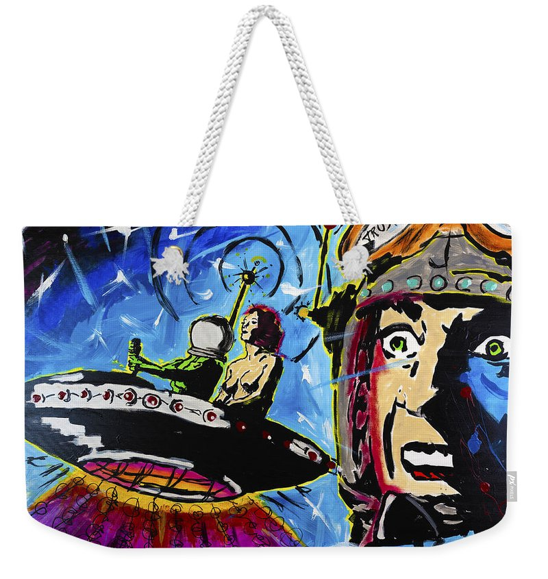 Spaceman Love - Weekender Tote Bag