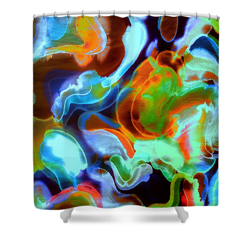 Tangerine Dream - Shower Curtain