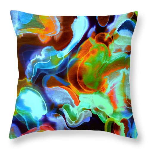 Tangerine Dream - Throw Pillow