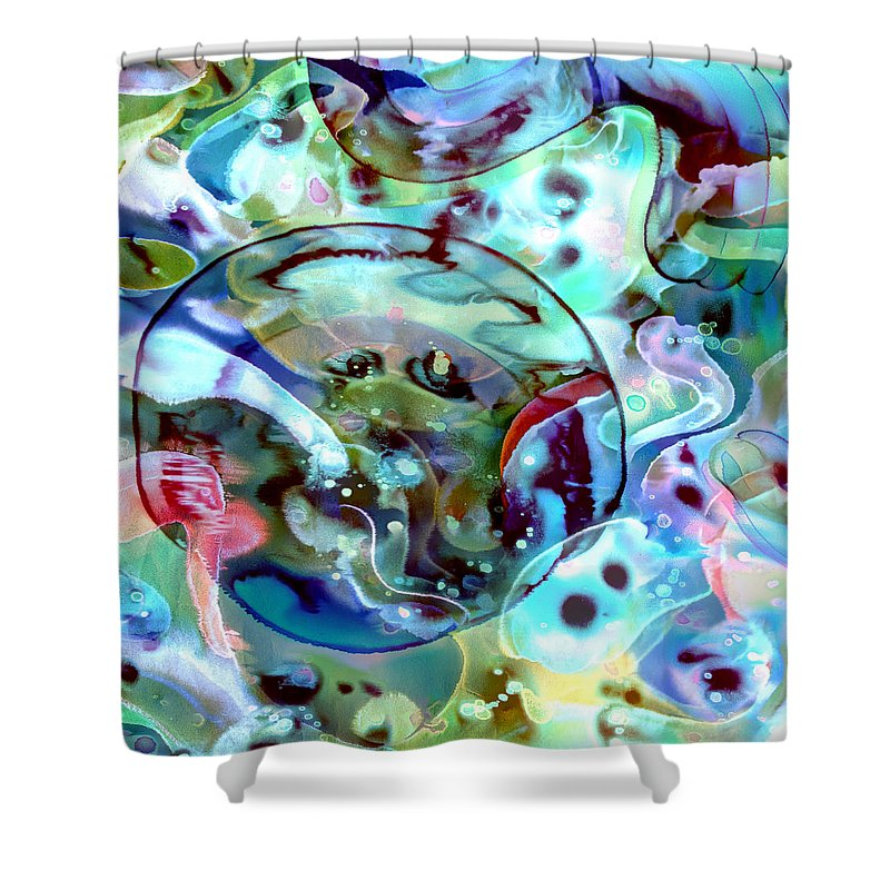 Crystal Blue Persuasion - Shower Curtain