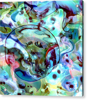 Crystal Blue Persuasion - Acrylic Print