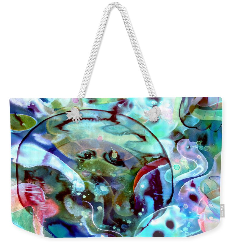 Crystal Blue Persuasion - Weekender Tote Bag