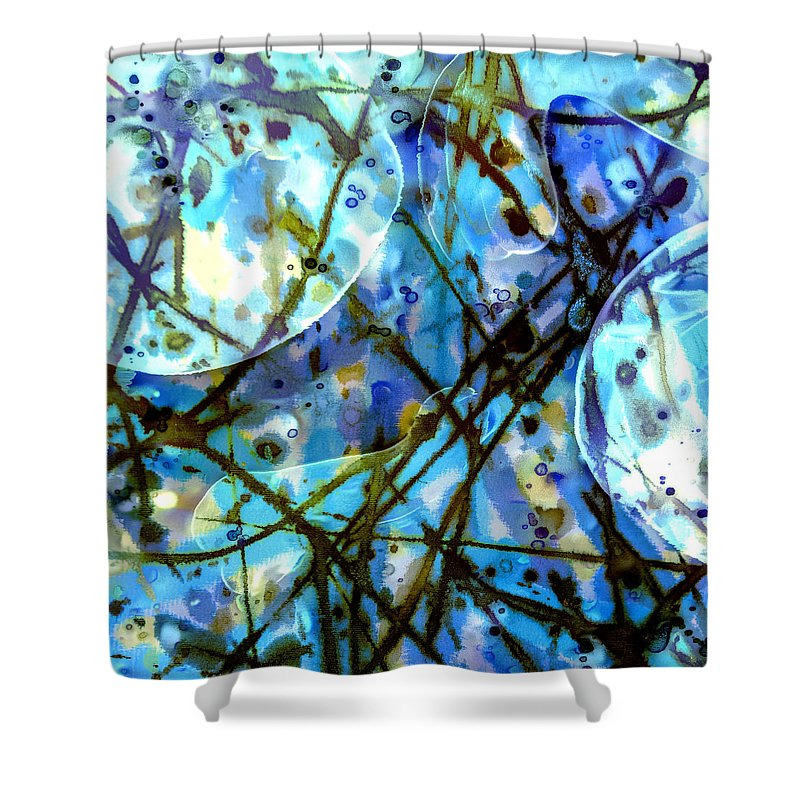 Atlantis Rising - Shower Curtain