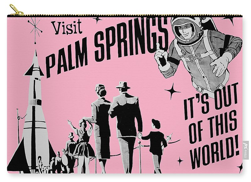 Visit Palm Springs - Carry-All Pouch