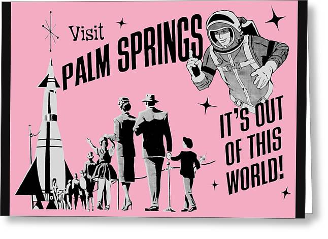 Visit Palm Springs - Greeting Card