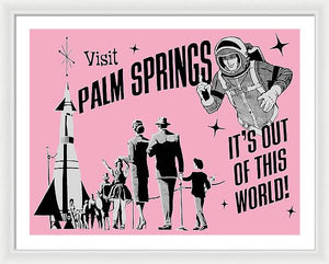 Visit Palm Springs - Framed Print