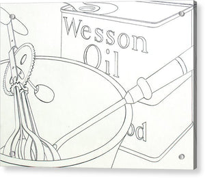 Wesson Oil - Acrylic Print
