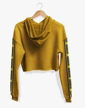 Load image into Gallery viewer, Cropped Danger Hoodie (Mustard)