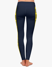 Load image into Gallery viewer, Danger Leggings (Navy)