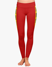Load image into Gallery viewer, Danger Leggings (Red)