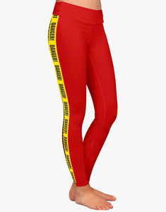 Danger Leggings (Red)