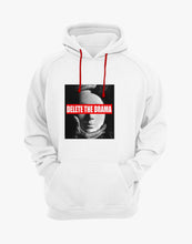 Load image into Gallery viewer, Delete the Drama Hoodie (White)
