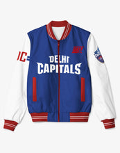 Load image into Gallery viewer, GULLY X DELHI CAPITAL BOMBER