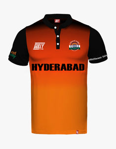 HYDERABAD SAME GAME JERSEY WITH CUSTOMISE OPTION