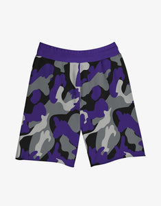 GULLY X KKR SHORTS (PURPLE)