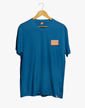 Load image into Gallery viewer, Parlez Vouz Blue Tee