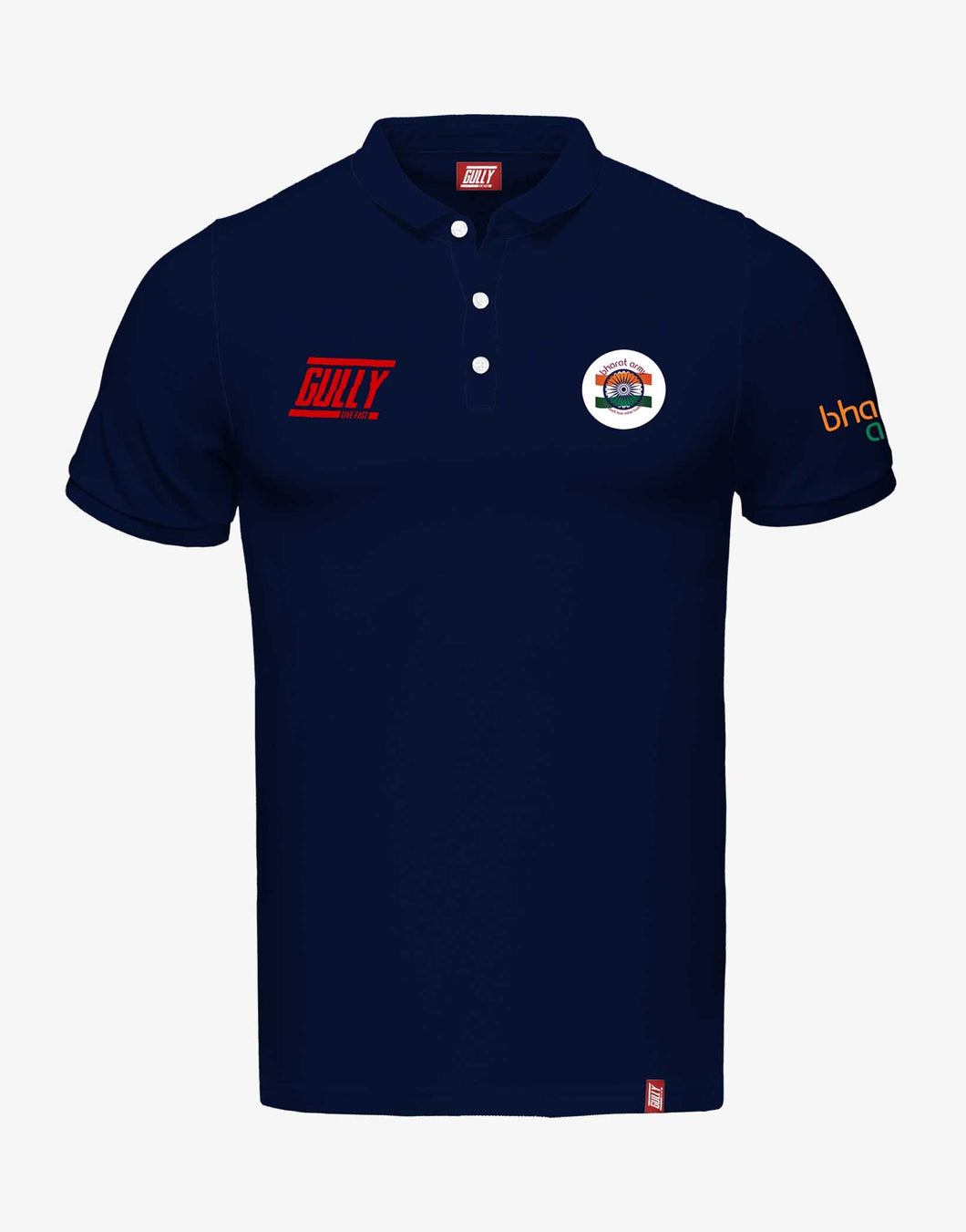 Bharat Army Casual Polo