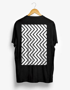 LOGO REGULAR BLACK TEE