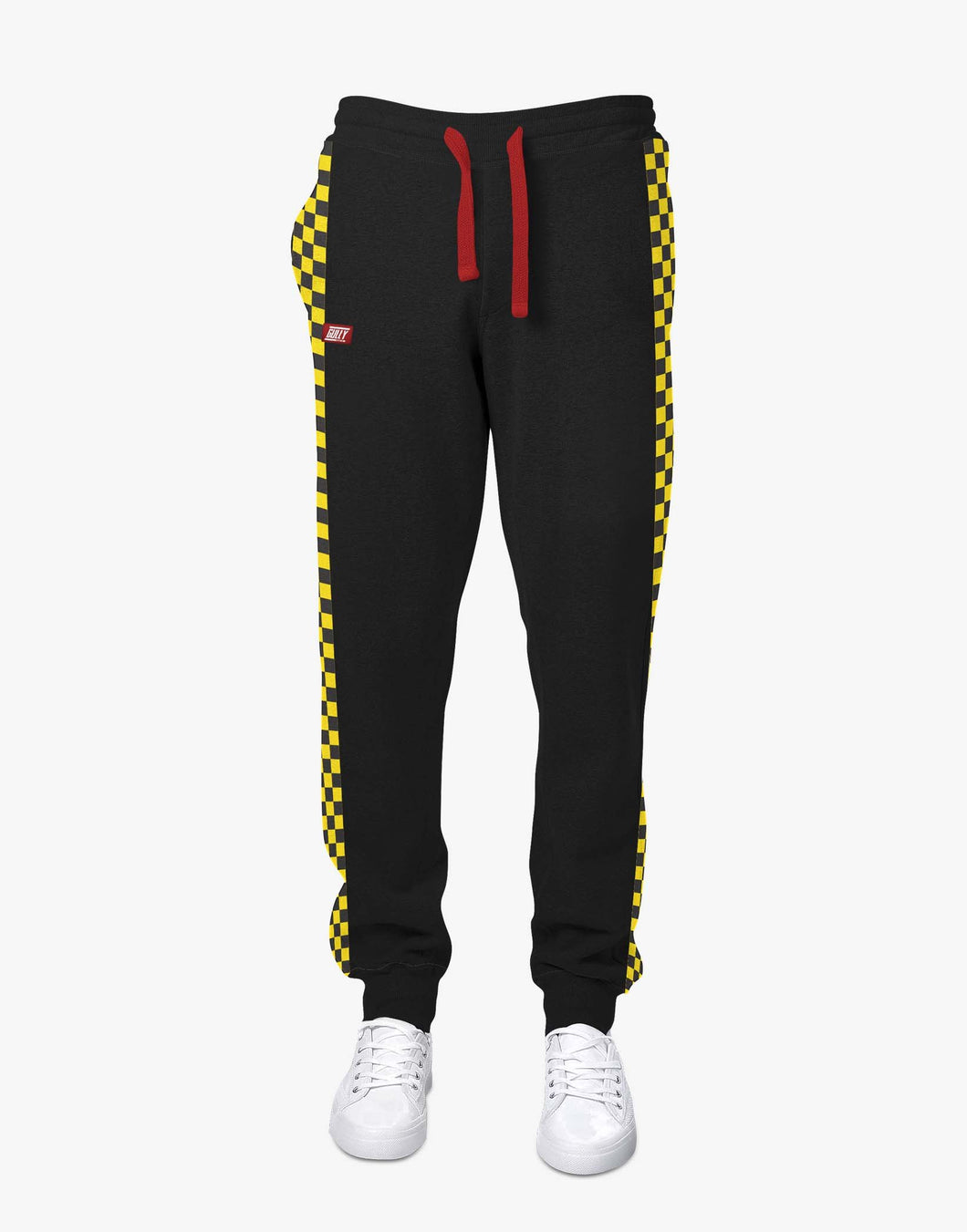 Checkered Joggers (Black)