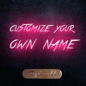 Customize Name