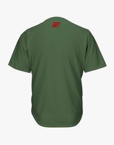 No Pictures Baseballl Shirt (Olive)