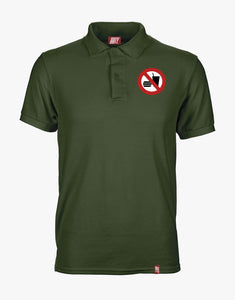 No Eating Polo (Olive)