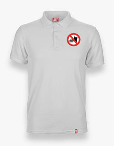 No Eating Polo (White)