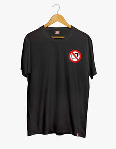 No Speaking Tee (Black)