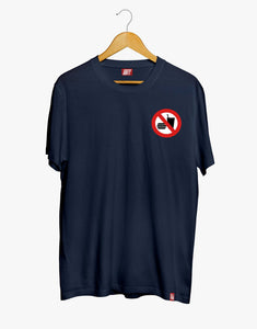 No Eating Tee (Navy)