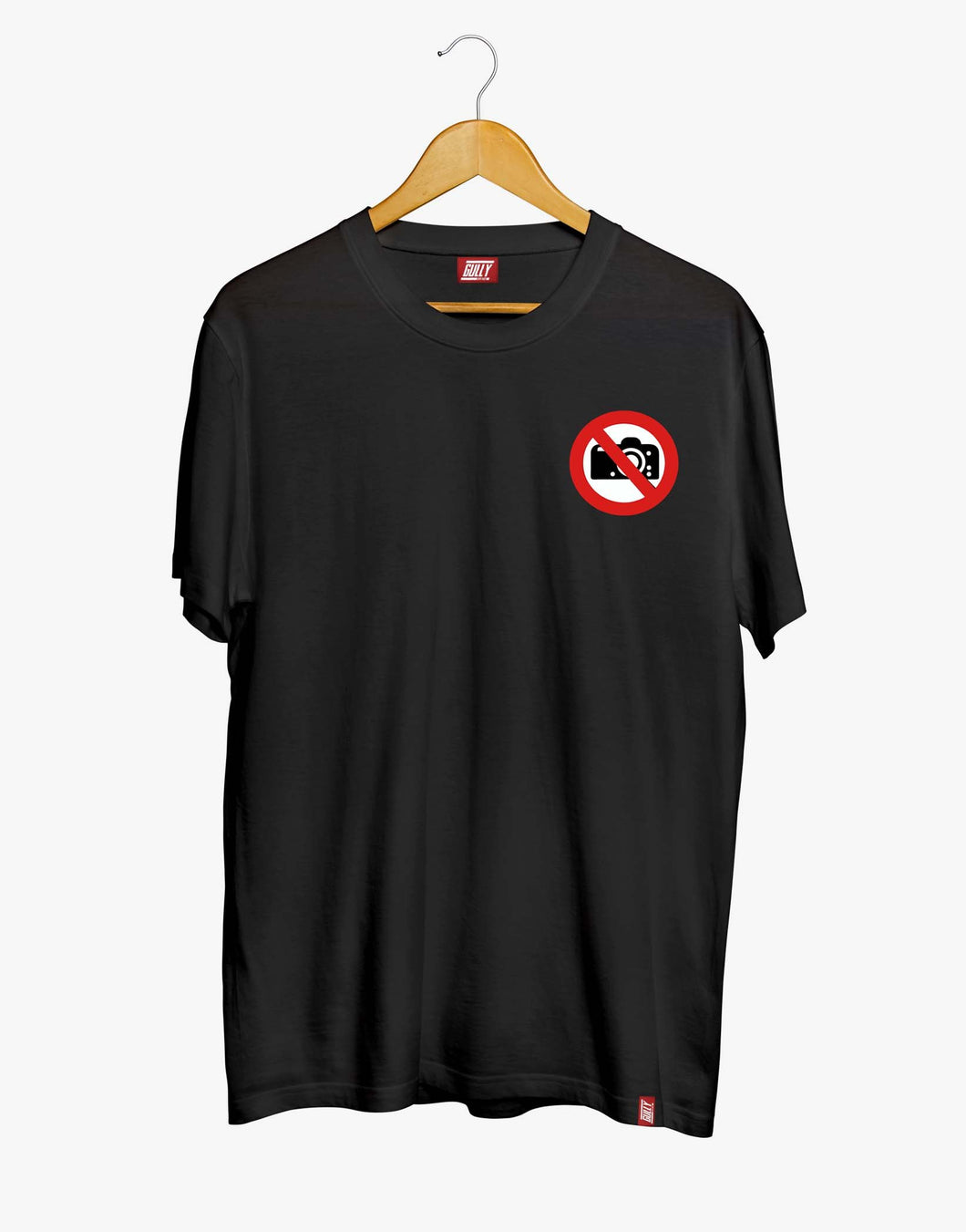 No Pictures Tee (Black)
