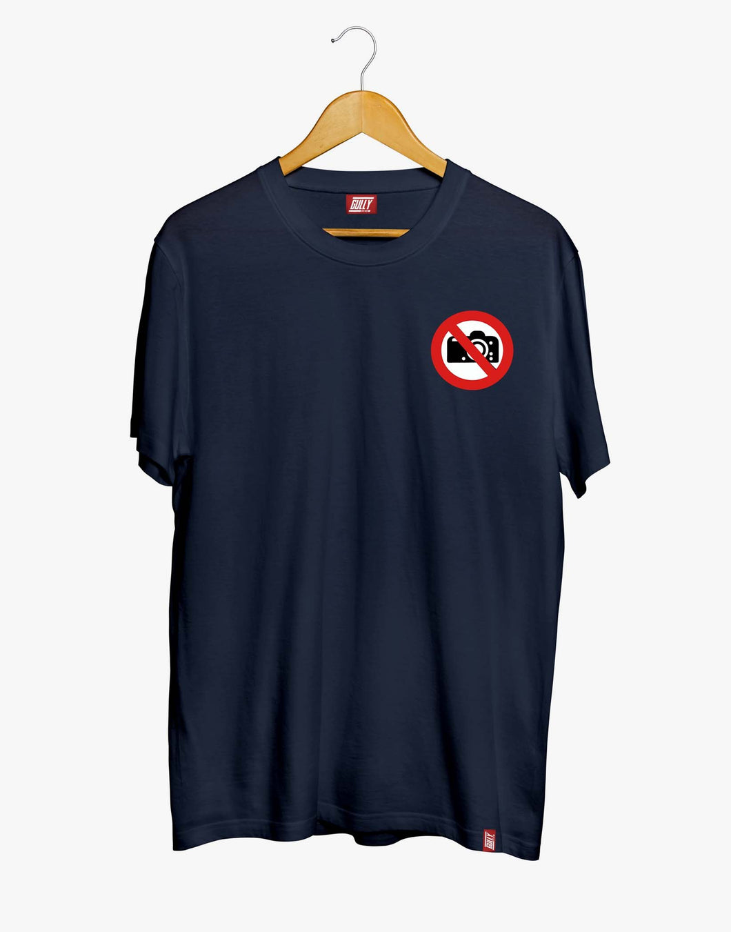 No Pictures Tee (Navy)
