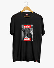 Load image into Gallery viewer, SMALL WORLD TEE (BLACK)